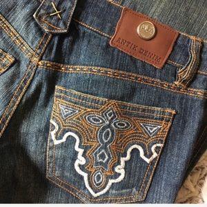 Antik Denim Monroe Bootcut Jeans 26x32